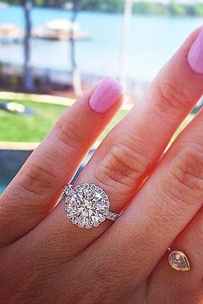 ritani engagement rings round halo pave band