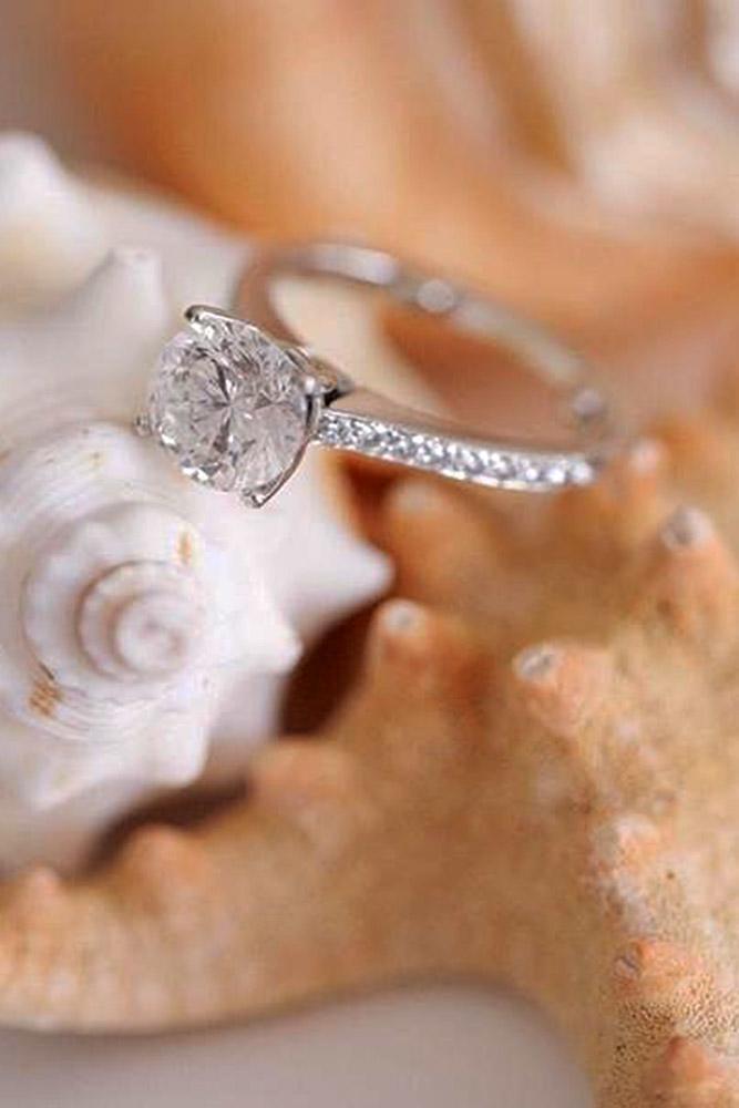 ritani engagement rings round simple pave diamond band