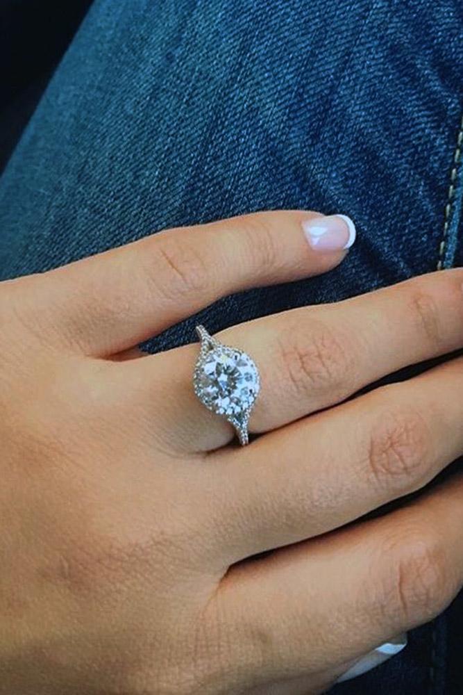 ritani engagement rings round unique white gold ring