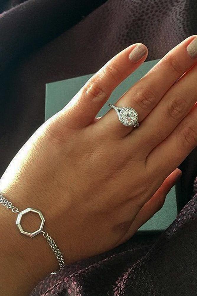 ritani engagement rings unique split white gold