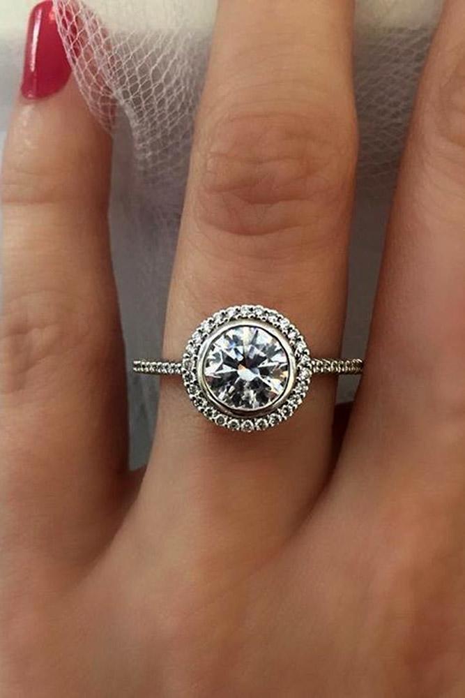 ritani engagement rings vintage white gold pave band round cut