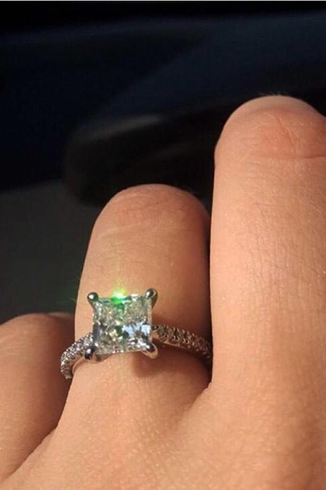 ritani engagement rings white gold solitaire princess cut