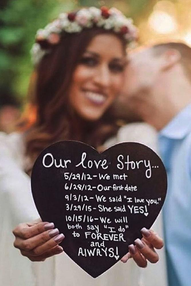 24 creative and unique save the date ideas oh so perfect proposal save the date ideas heart sign and nice kiss junglespirit Choice Image