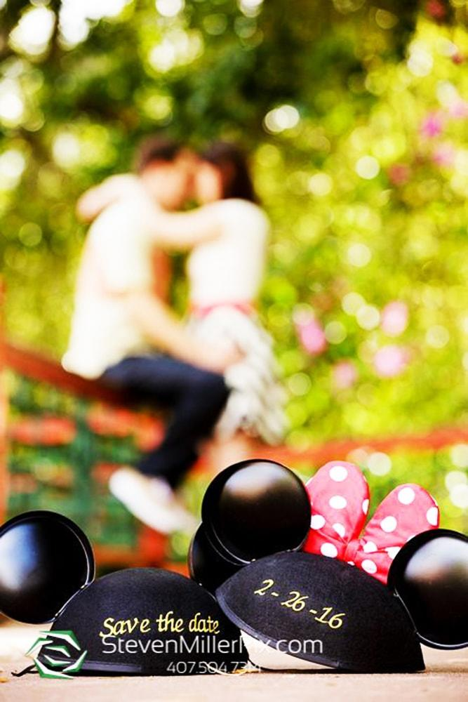 save the date ideas in disneyland style cool cap with mickey mouse ears