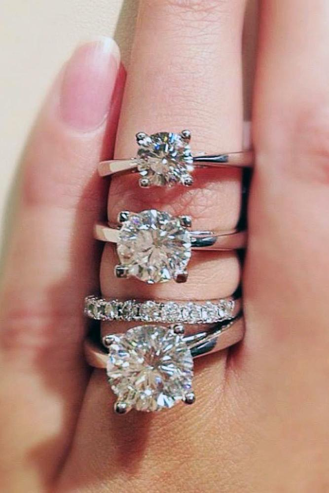 zales engagement rings round cut diamonds solitaire design rose gold