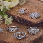 zales engagement rings white and rose gold rings diamond