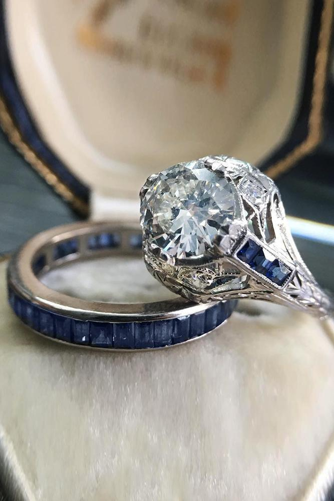 33 Art Deco Engagement Rings For Fantastic Look Oh So