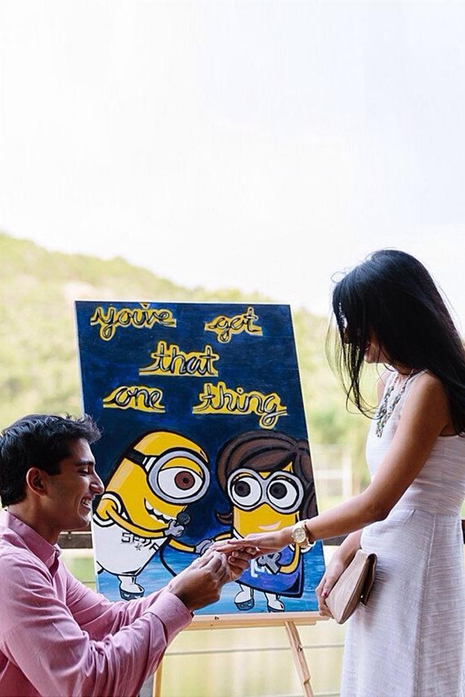 best proposal ideas minions funny proposal