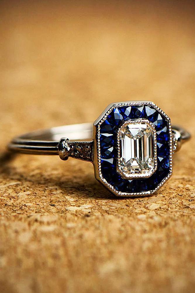 Beautiful Princess Cut Diamond Rings