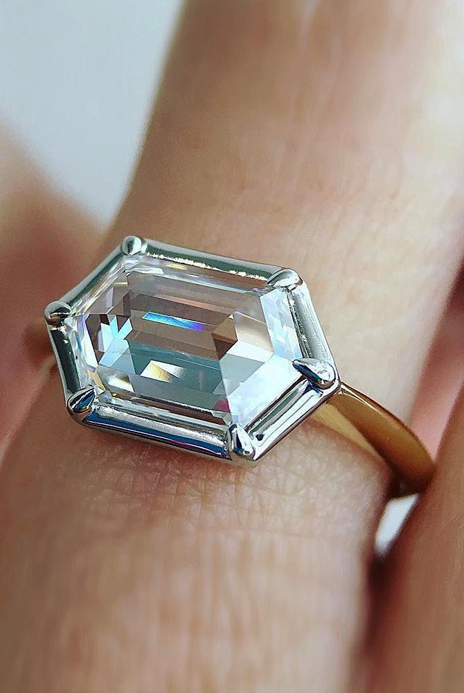 modern engagement rings rose gold halo diamond