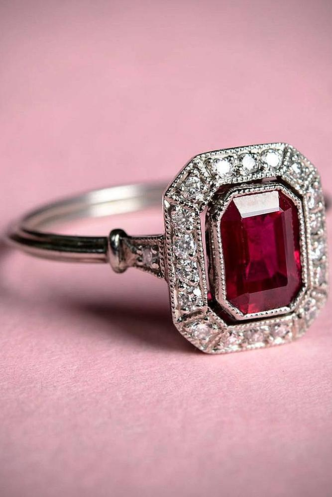 44cbba5e411ee Ruby Engagement Rings Instagram