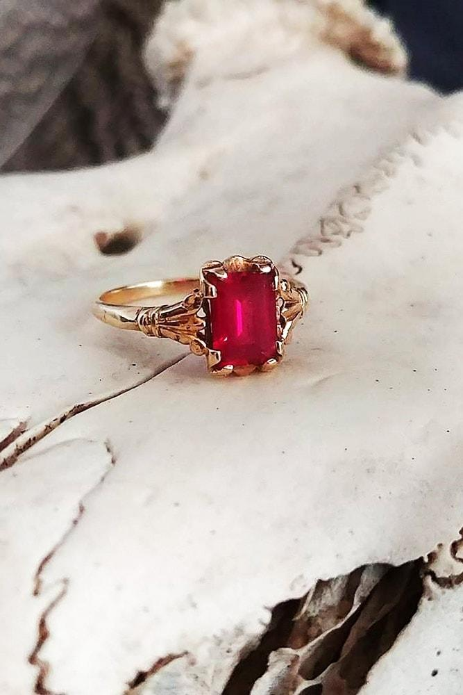 33 Ruby Engagement Rings That Are So Great As Your Heart