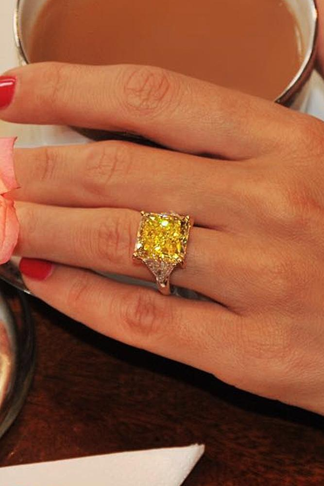 yellow diamond wedding ring 24 yellow engagement rings that every wants 1515