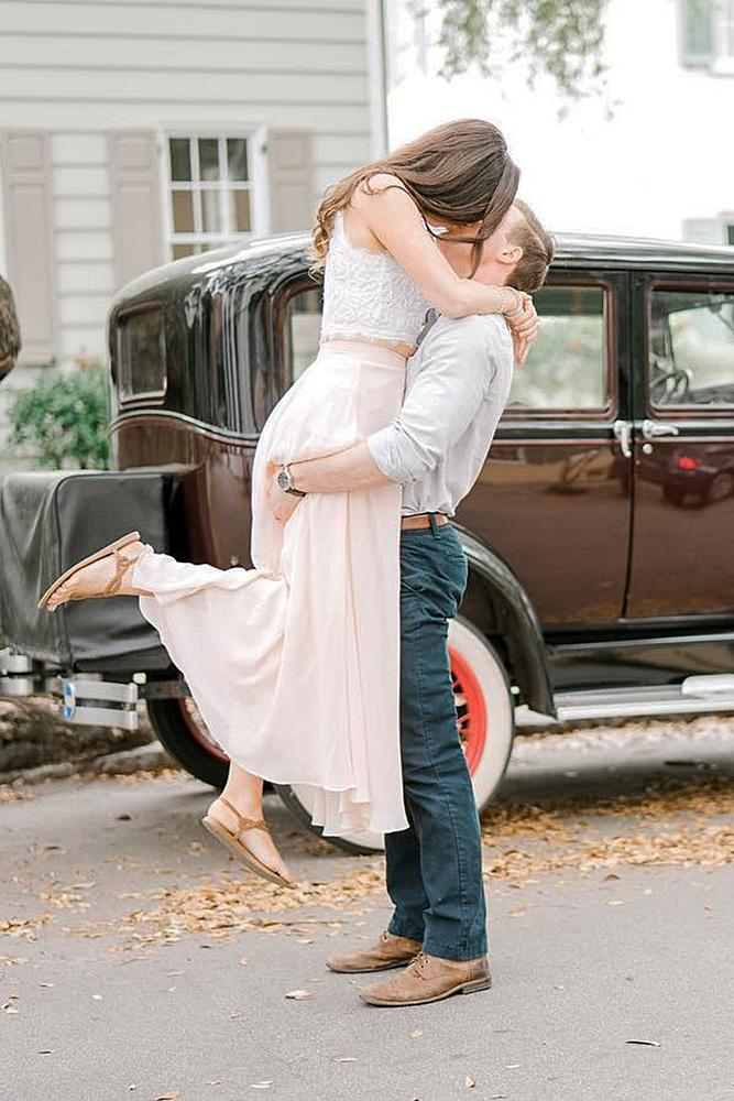 best proposals beautiful engaged man and woman