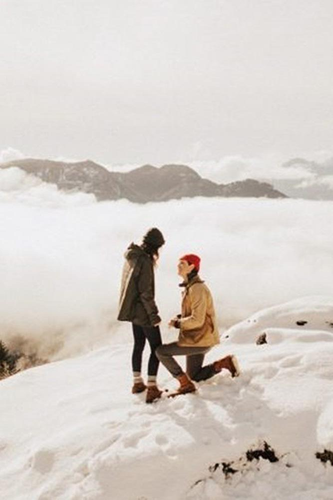 best proposals couple propose nature mountain
