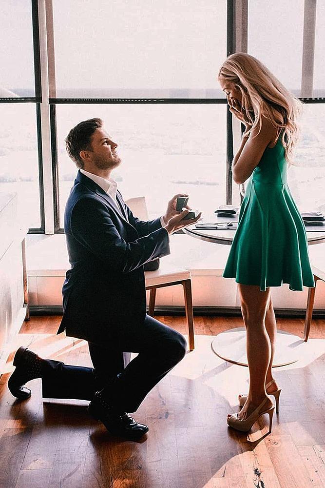 best proposals man propose a woman beautiful