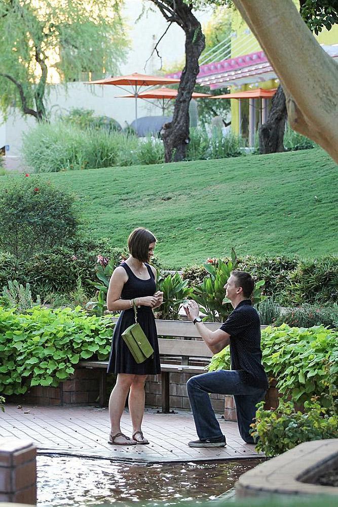 best proposals park man woman propose