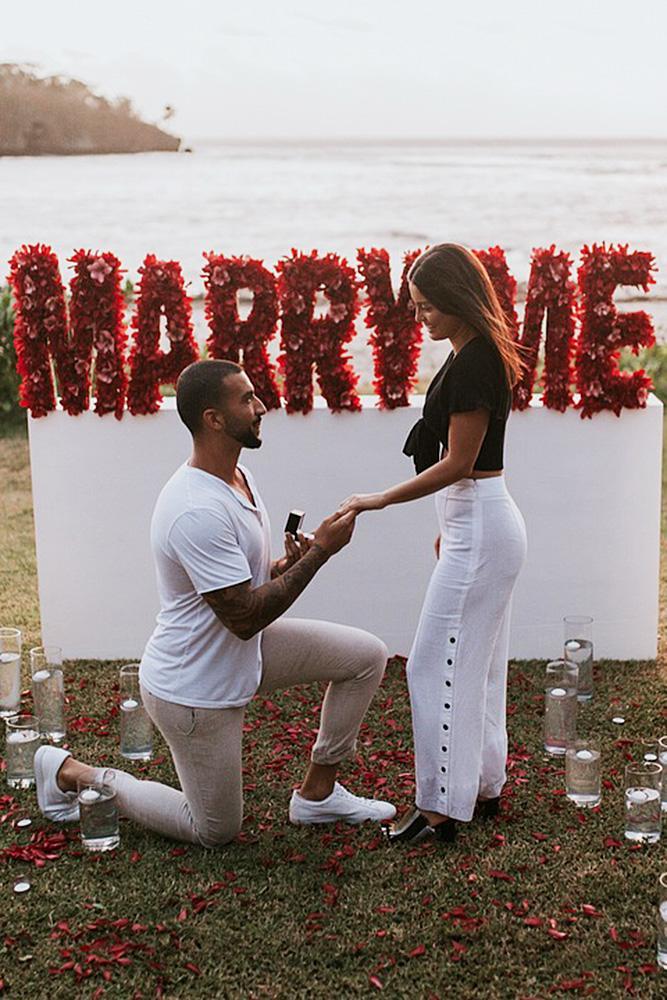 best proposals romantic proposal engagement couple