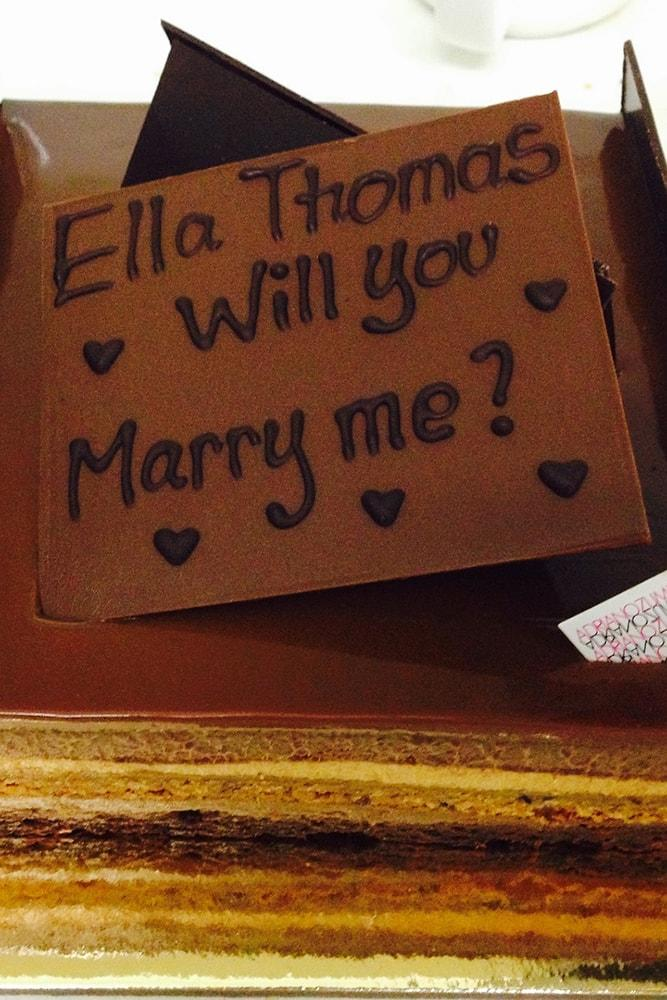 best proposals sweet proposal ideas tasty chocolate pie marry me