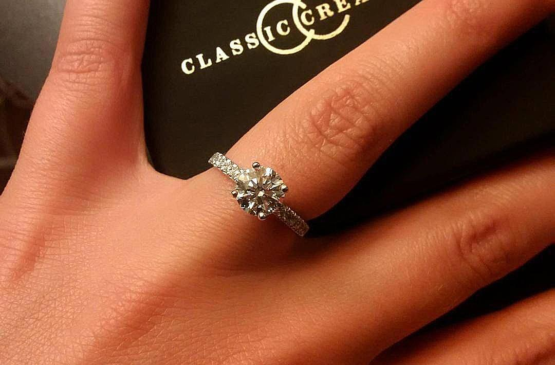 30 Classic Engagement Rings For The Timeless Bride Oh So Perfect