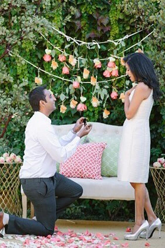 creative proposal ideas romantic park proposal