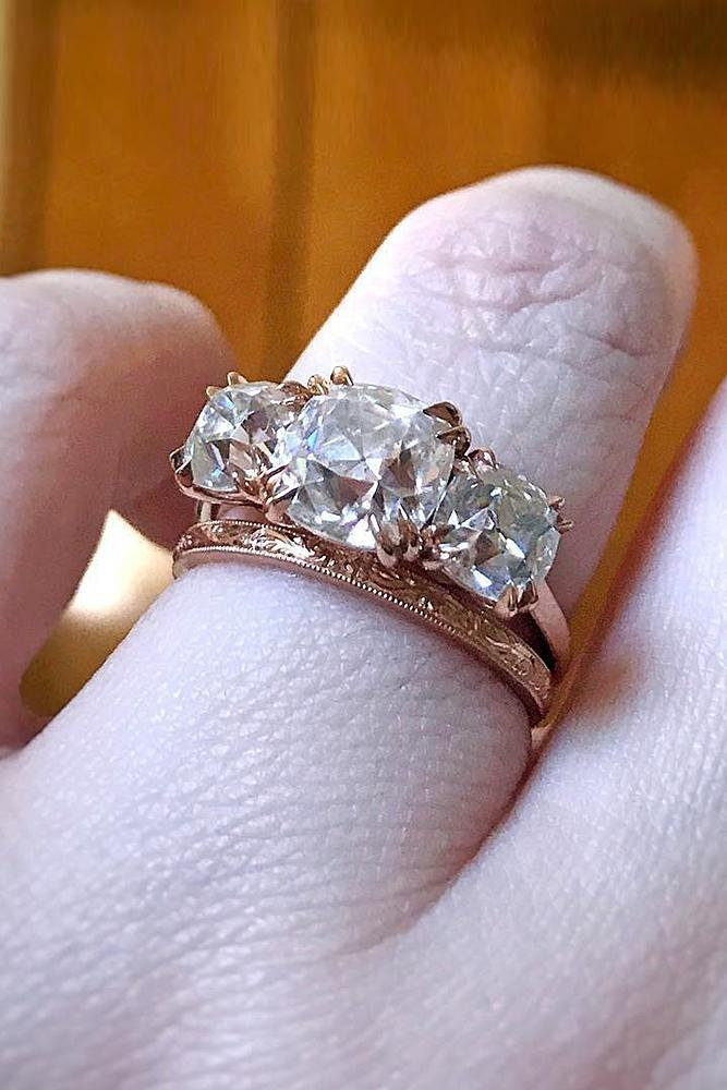 white girlfriend gold for vintage filled gift ring romantic cz rings simulated aaa best jewelry bridal wedding women with new diamond product square