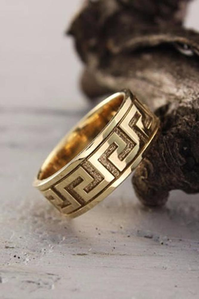 design celtic rings jewellery womans bands band trinity tone colour stainless image ring boxed steel wedding new gold knot mens
