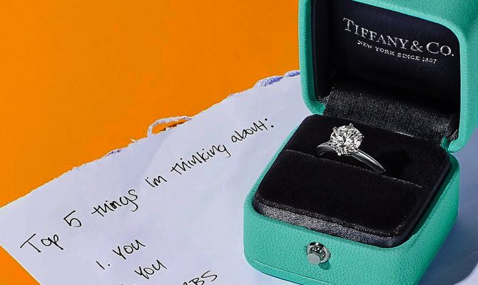 tiffany engagement rings solitaire simple round cut featured
