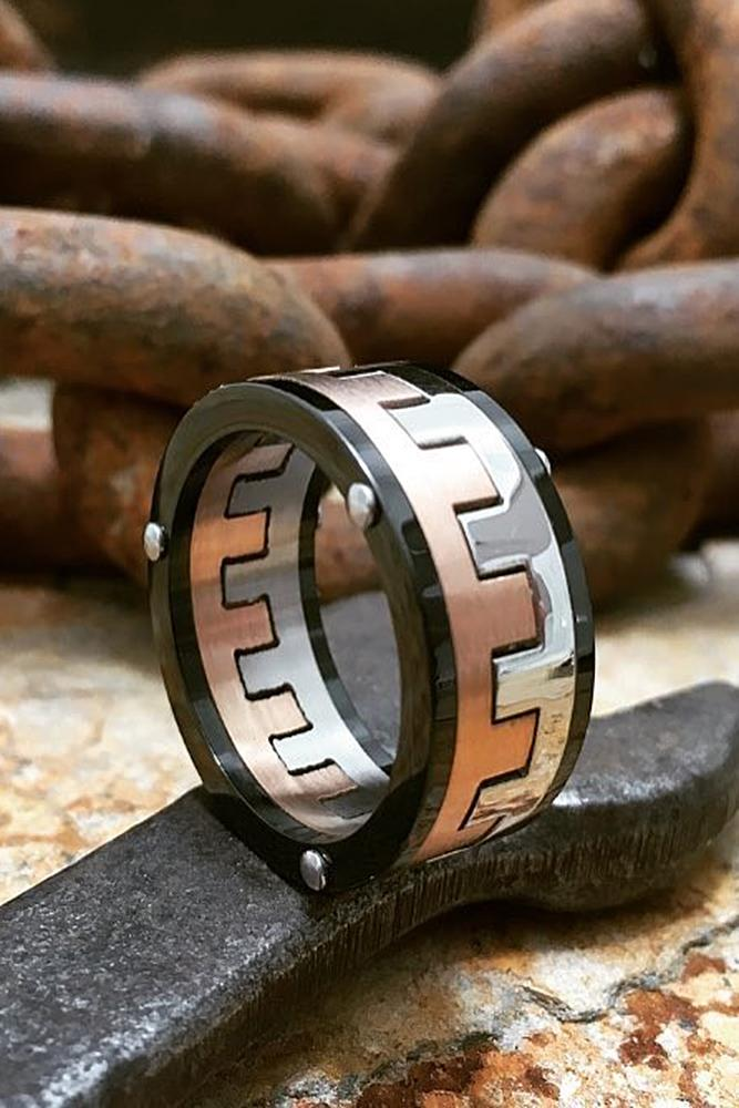tungsten wedding bands unique pave band in modern style amazing