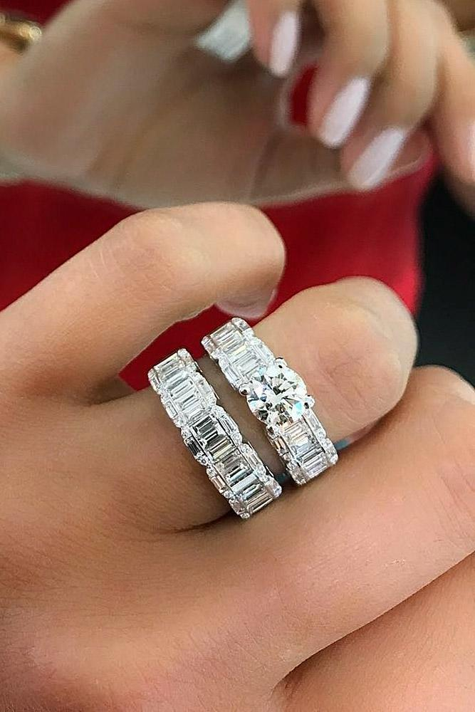 Beautiful Wedding Ring Sets Diamonds Unique