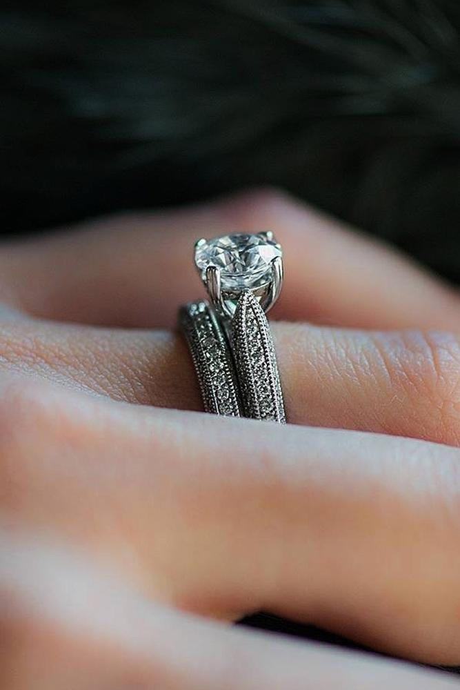30 beautiful wedding ring sets for your girl oh so