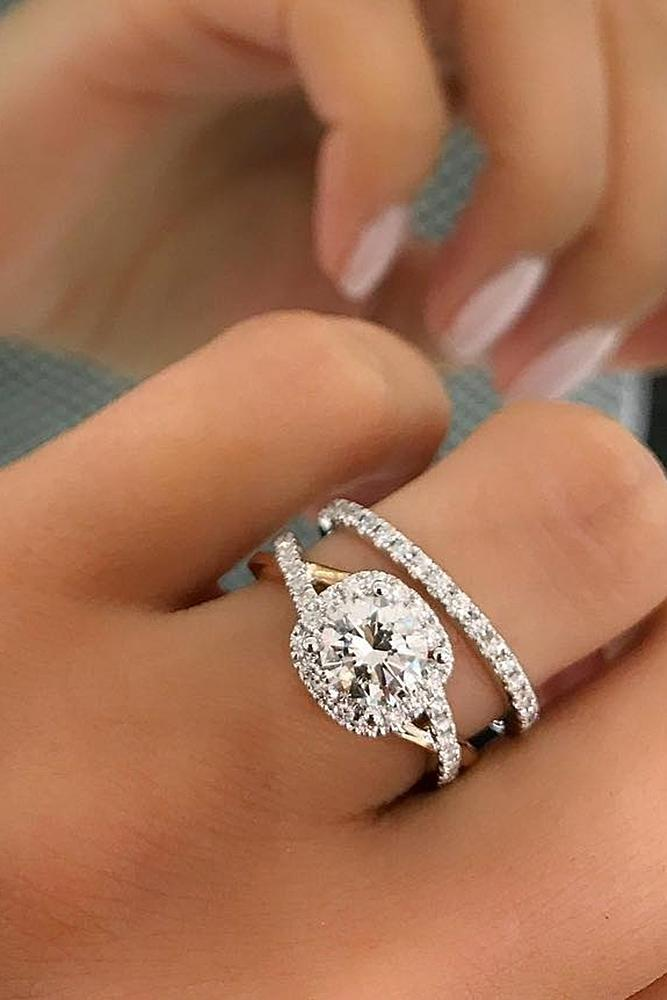 30 Beautiful Wedding Ring Sets For Your Girl Oh So Perfect Proposal