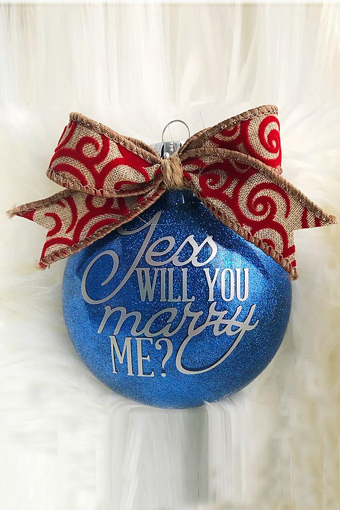christmas proposal toy