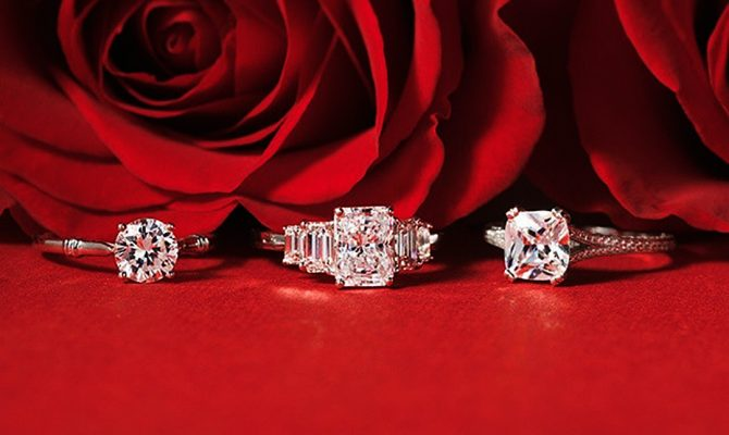 engagement ring designers diamonds white gold red bluenilediamond featured
