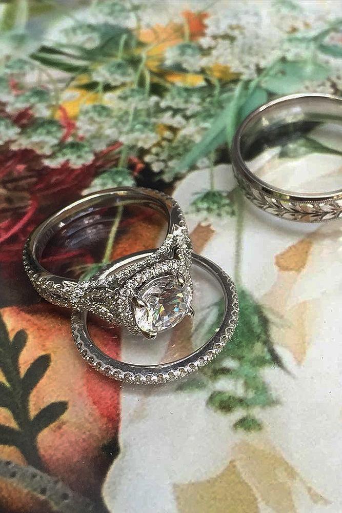 engagement ring designers wedding sets by kirkkara white gold amazing