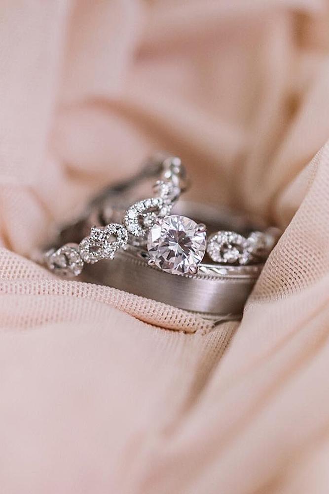 engagement ring designers wedding sets by kirkkara white gold simple