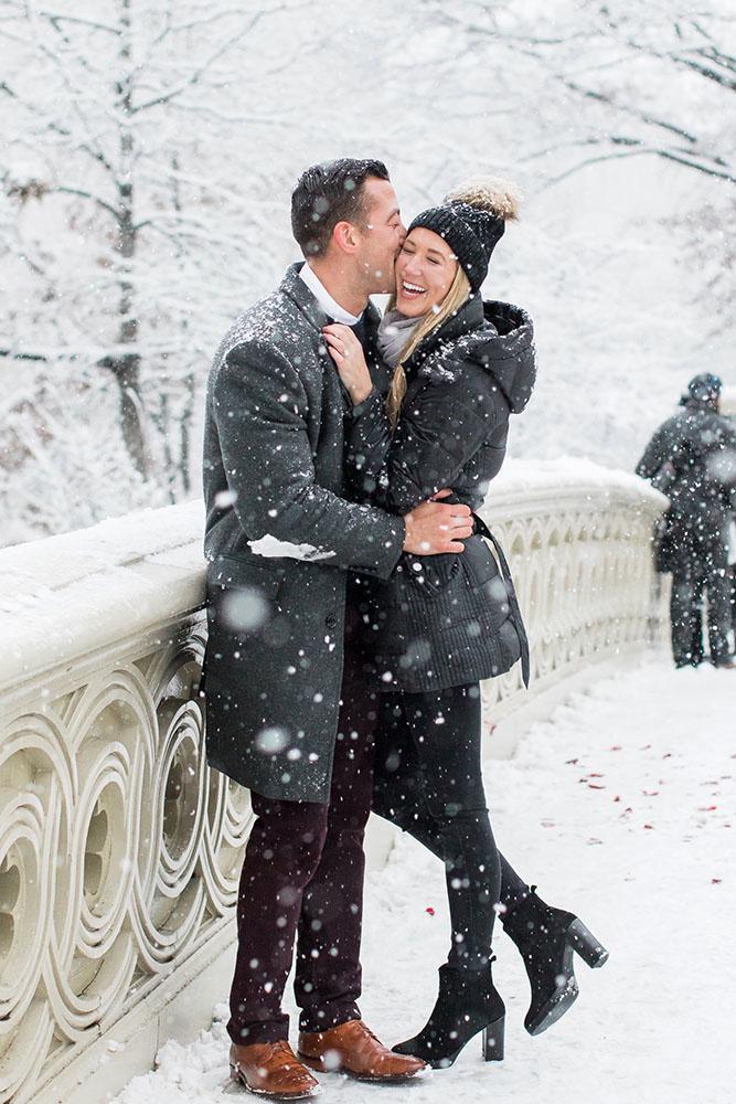 Britt and Elliott real proposal kiss
