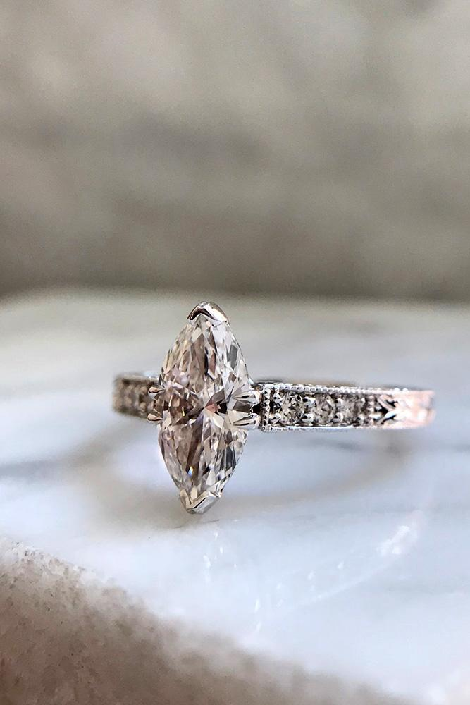 bestengagement rings marquise cut engagement rings solitaire engagement rings white gold engagement rings