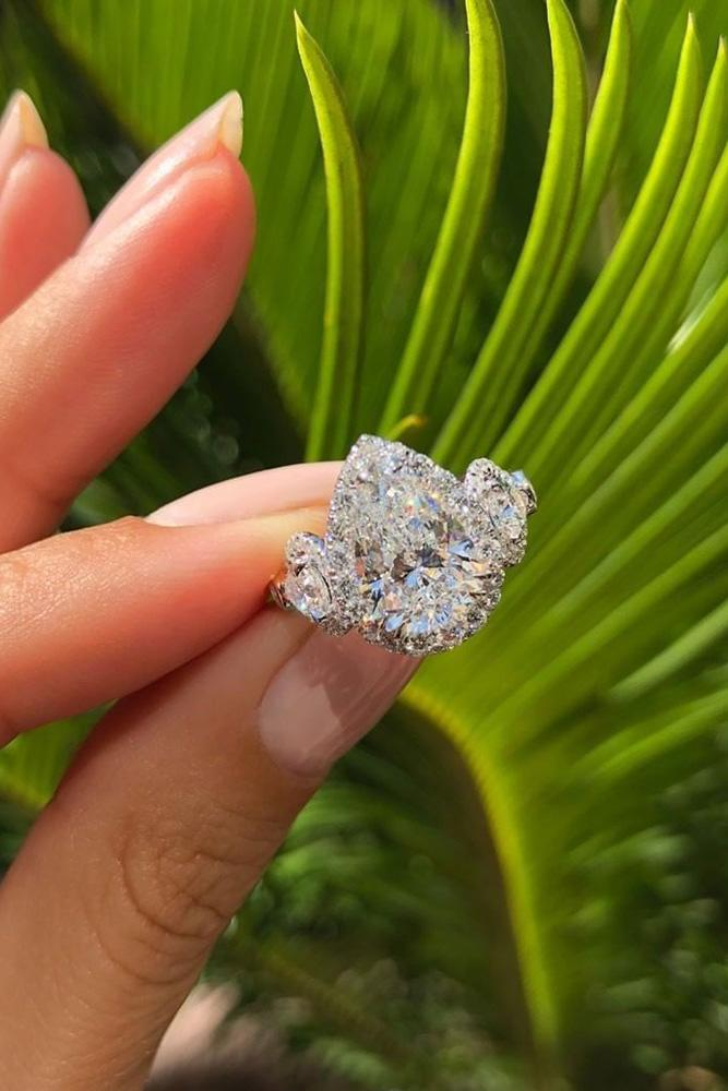 best engagement rings white gold engagement rings pear shaped engagement rings diamond engagement rings halo rings
