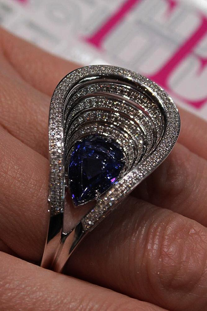 best sapphires designers white gold unique style