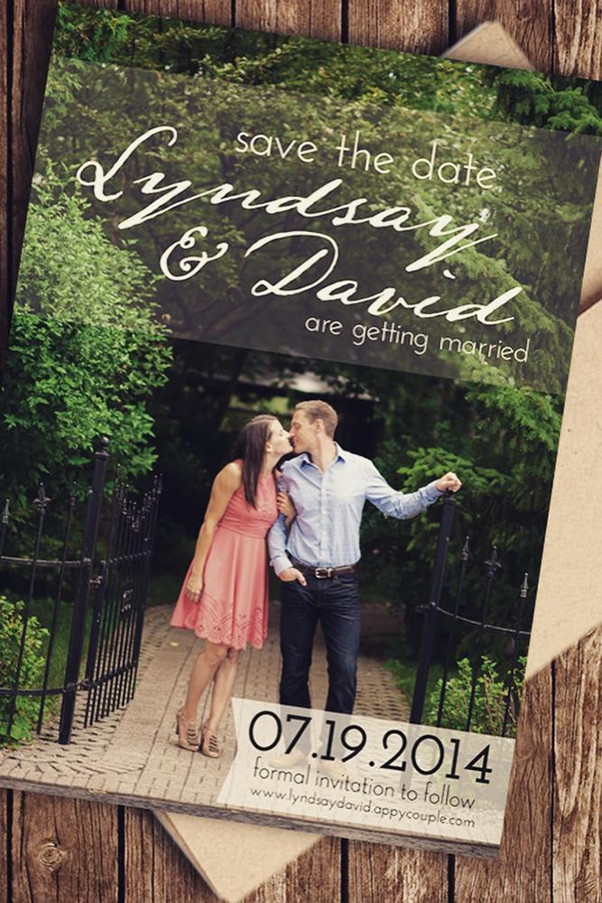 save the proposal date card invitation of a sweet couple with dateofthedate