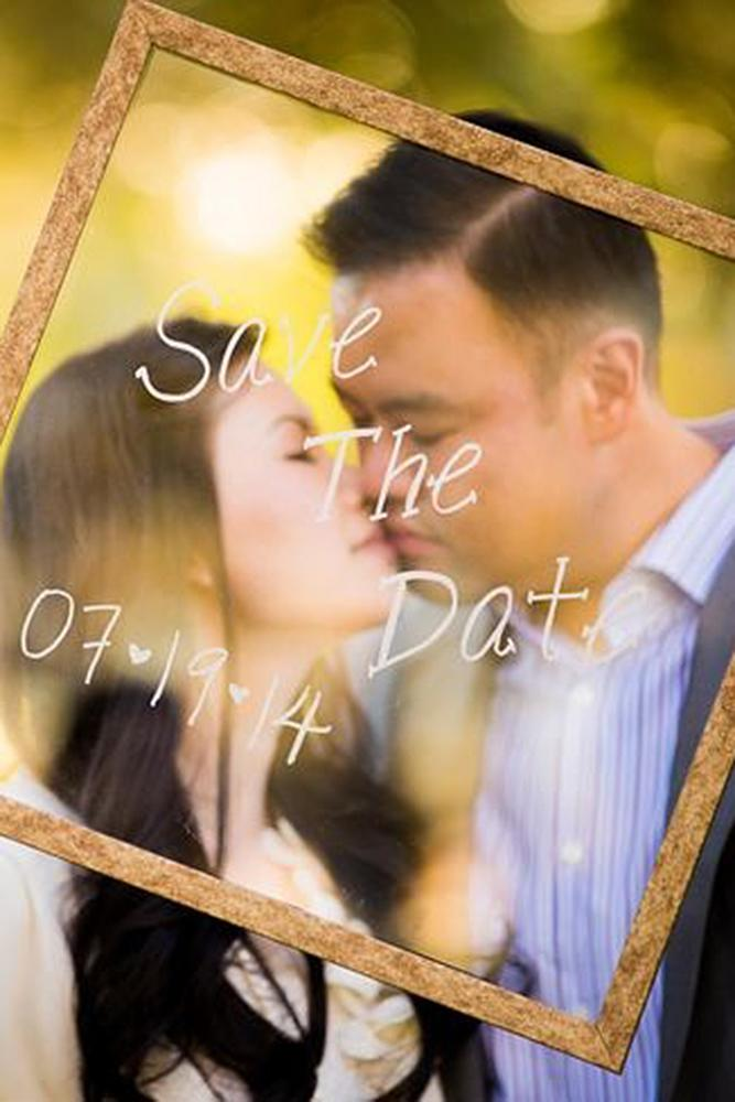 save the proposal date couple kiss romantic
