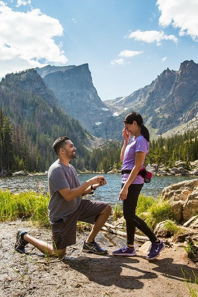 unique proposal ideas active couple propose