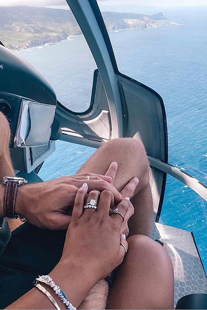 unique proposal ideas flight engagement rings