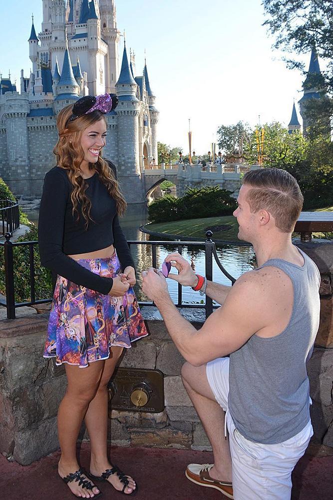 Disney proposal ideas couple cute romantic proposal