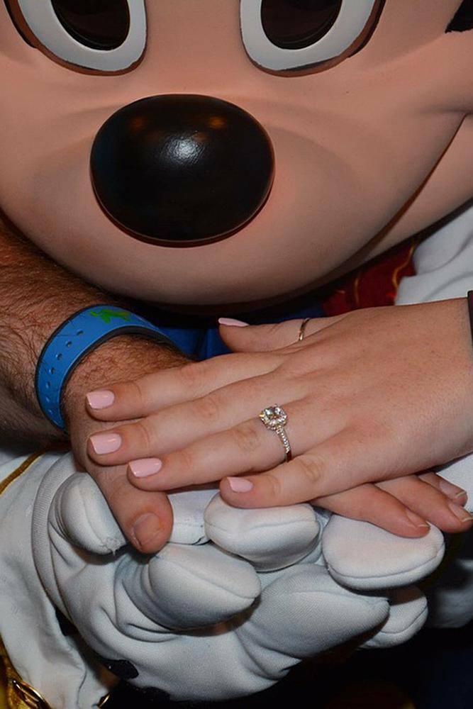 Disney proposal ideas engaged couple romantic