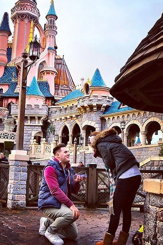Disney proposal ideas surprise proposal romantic