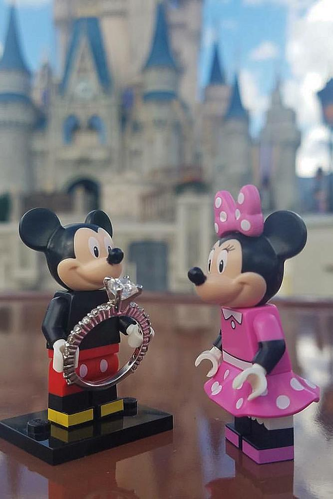 Disney proposal ideas toys proposal romantic engagement ring