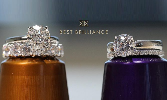 best brilliance wedding ring sets diamond pave band white gold featured