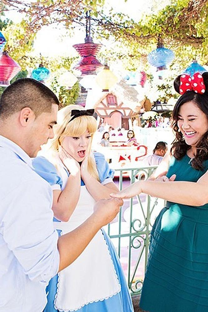 disney proposal ideas cute proposal with cartoon characters alice